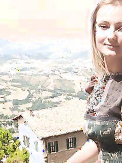 Голая итальянка (10 фото) - порно фото